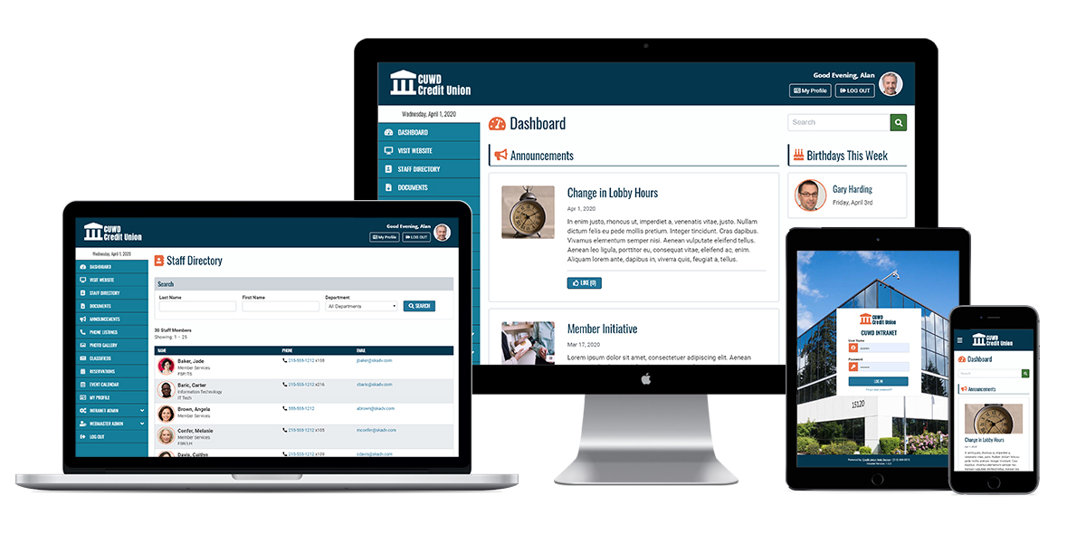 Why an intranet is more important to your credit union now more than ever before.