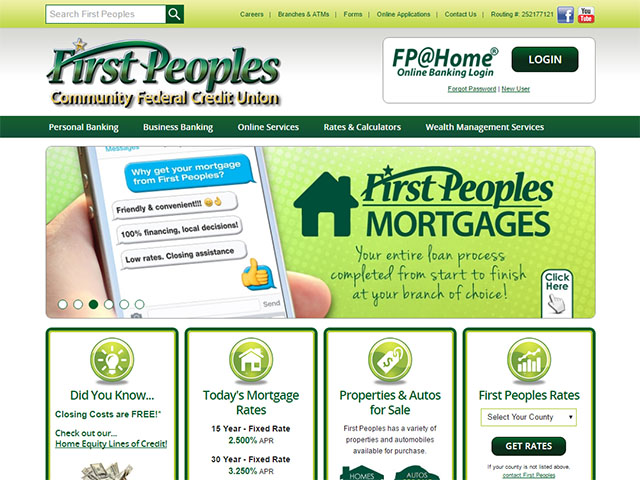 First Peoples Community FCU