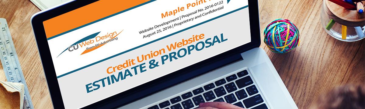 Credit Union Website Estimate Request